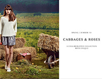 UNIQLO X CABBAGES & ROSES S/S 2013