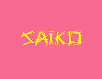 SAIKO Typeface. UAL 2013