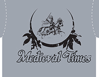 Medieval Times T-Shirt Concepts