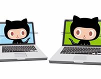GitHub Octocats Animation