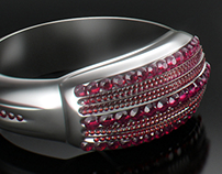 CGI Diamond Ring