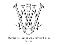 Montreal Warriors Rugby Club monogram