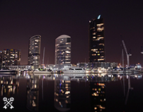 Midnight at the Docklands