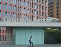 City of Justice by David Chipperfield in Barcelona