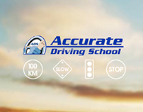 Accurate Driving - iOS Application Splash Screen