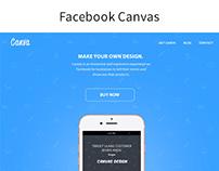 Facebook Canvas Design