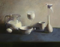 Still life with a milk