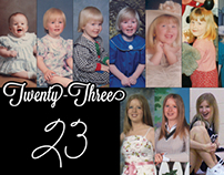 Facebook Cover - 23rd Birthday