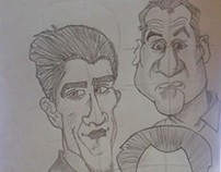 drawing caricature