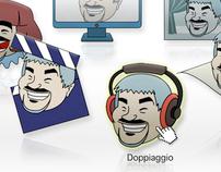 Pino Insegno Web layout