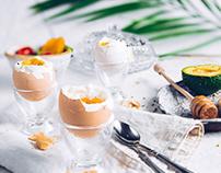Breakfast styling for GLASMARK SP. Z O.O.