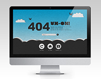 Sky High 404 Error Page Template