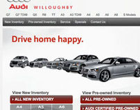 Audi Willoughby Website