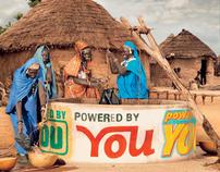 "Welthungerhilfe Plakatkampagne ""Sponsoring"""