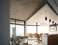 Brenton ON sea Stand 14 kitchen/Lounge