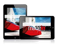 Madein, parole e fatti_iPad digital magazine
