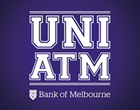 Bank of Melbourne - UNI ATM