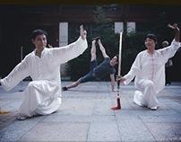 Yoga photo session in Hangzhou, China