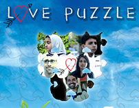 Love Puzzle-The Movie | Dvd Cover | Design | Aesthetic
