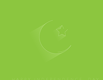 Minimal Independence Day  Card
