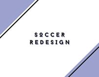 Rediseño de logos de fútbol