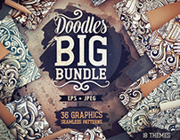 Big Doodle Patterns Bundle