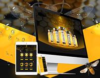 The Hive Organic Honey Website