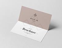 Bi-Fold DL Horizontal Brochure