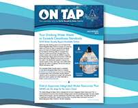 Newsletter Design for Santa Margarita Water District