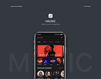 I Music App UIUX Design