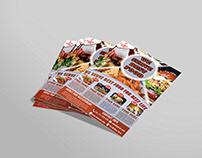 Free PSD Food Flyer Design