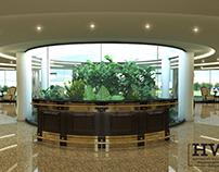 Reception + Waiting Area