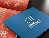 Ideeuropee - brand identity restyling