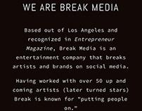 Break Media: The New Name In Entertainment Agencies