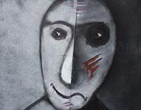 Illustration against violence