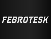Febrotesk (Typeface)