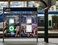 Mock iPod Flyers- iNinaz Keep the Music