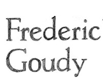 Type 1: Frederic W. Goudy Research Spreads