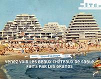 """PRINT expo """"Tous à la plage"""" la Cité de l'Architecture"""