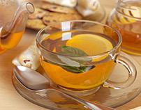 3D Model  -Tea & Honey set
