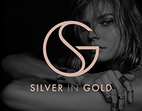 Silver in Gold — website redesign concept