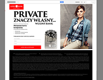 Lions Bank - landing page, mailing, banner & press advs