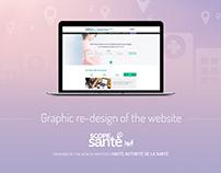 Health institute website design