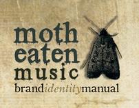 Brand Identity Design - Moth Eaten Music CI Manual