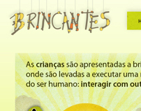 Brincantes - Institutional web site