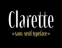 Clarette Typeface