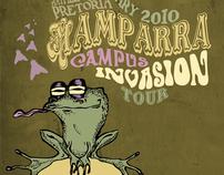 Design & Illustration - Mamparra Campus Invasion Tour