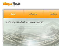 Megateck - Intitutional web site