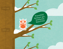 Binboabird // 2011 New Year Twitter Campaign
