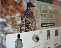 Hunting brand website /